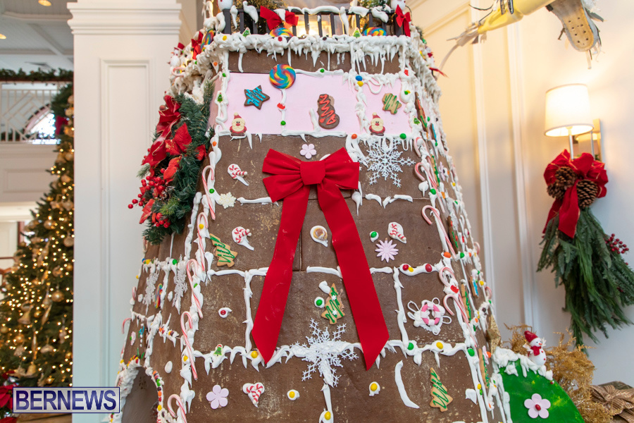 Hamilton Princess Hotel & Beach Club Gingerbread House Bermuda, December 1 2019-4863