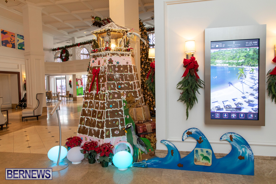 Hamilton Princess Hotel & Beach Club Gingerbread House Bermuda, December 1 2019-4870