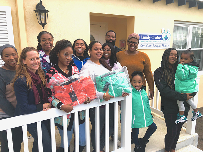 Jamie Madison Donates To The Family Centre Bermuda Dec 2019