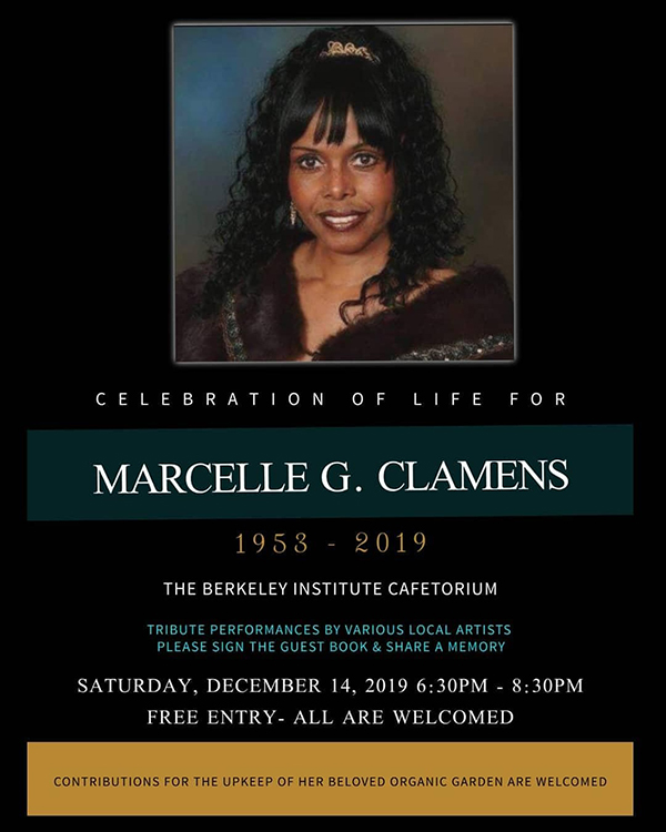 Marcelle Clamens Bermuda Dec 2019