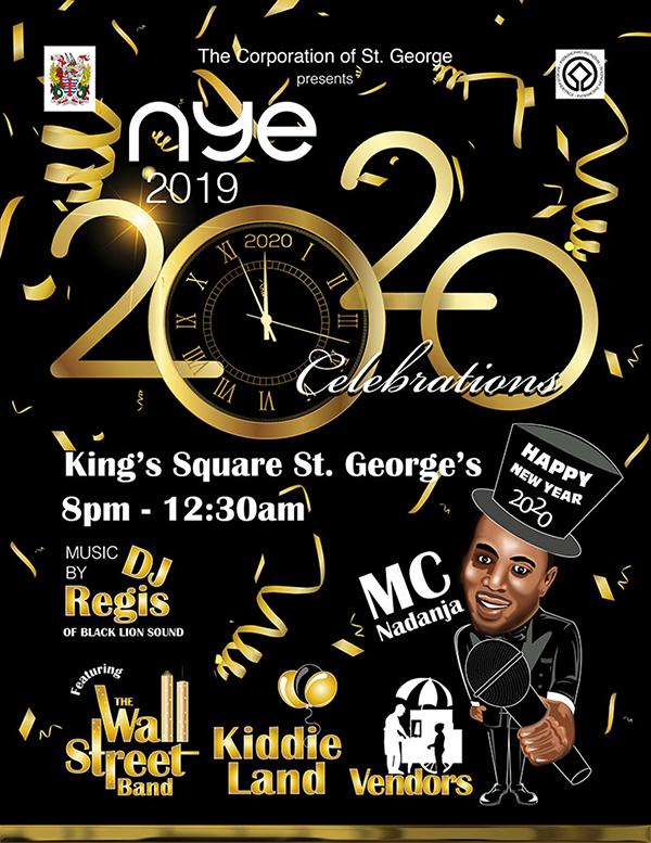 St George's New Year's Eve Celebration Bermuda Dec 2019