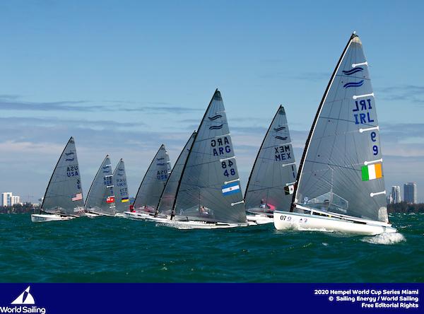 44Bermuda sailors in World Cup Sailing Series in Miami Jan 2020