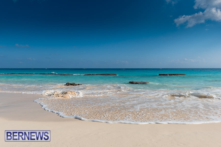 553 - There's nothing quite as stunning as a Bermuda beach in winter