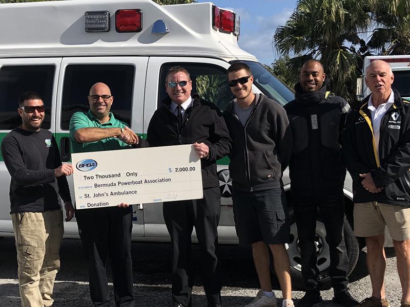 BPBA Donates To St John Bermuda Jan 2020