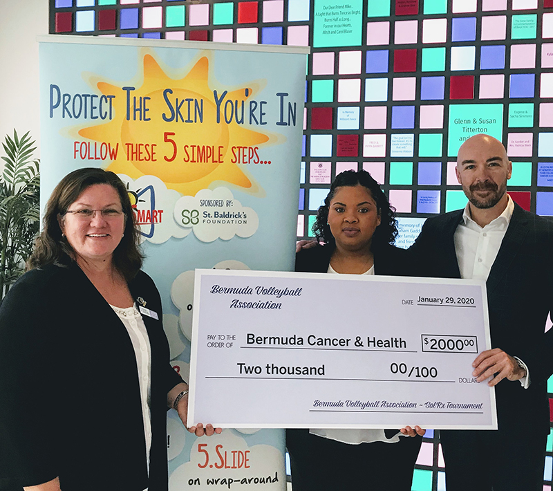 BVA & BGA Donates To Bermuda Cancer & Health Jan 2020