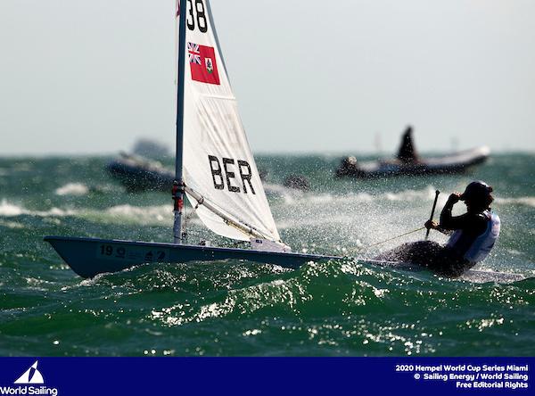 Bermuda sailors in World Cup Sailing Series in Miami Jan 2020 (2)