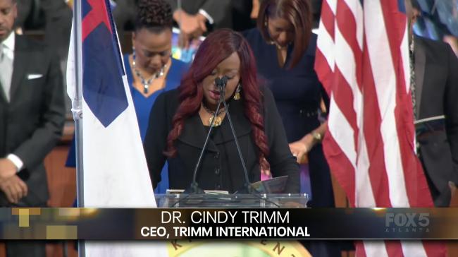 Dr Cindy Trimm Bermuda Jan 2020
