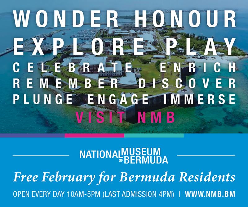 Free For February At NMB Bermuda Jan 2020