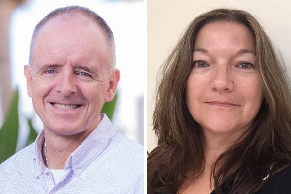 Laura West Burt & James O'Shaughnessy IOD Bermuda Jan 2020