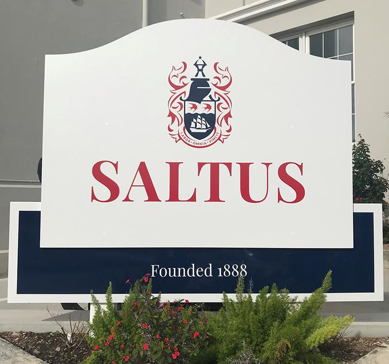 Saltus Grammar School Introduces New Crest