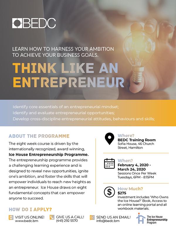Think Like An Entrepreneur Bermuda Jan 2020 (2)