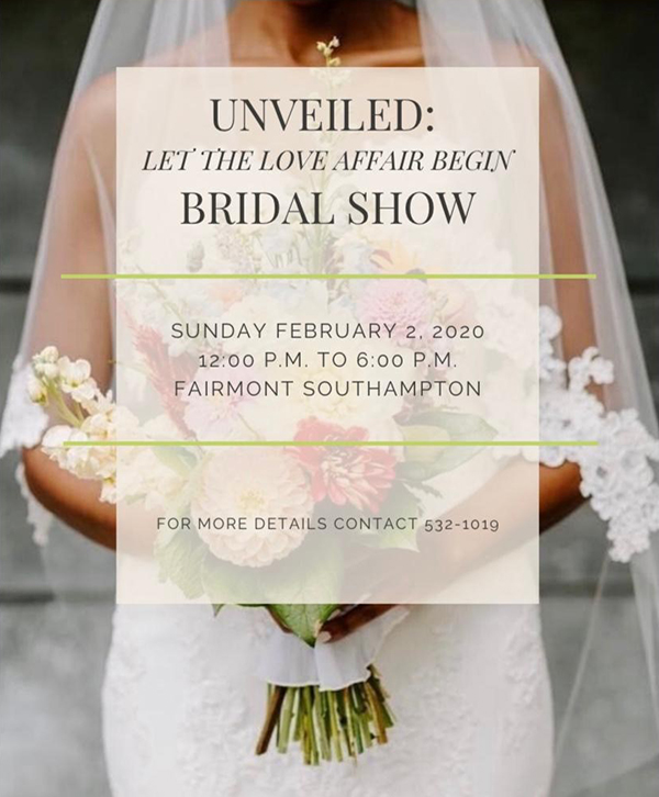 Unveiled Bridal Show Bermuda Jan 2020