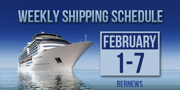 Weekly Shipping Schedule TC Feb 1-7 2020