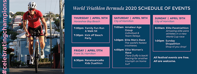 World Triathlon Bermuda Jan 2020