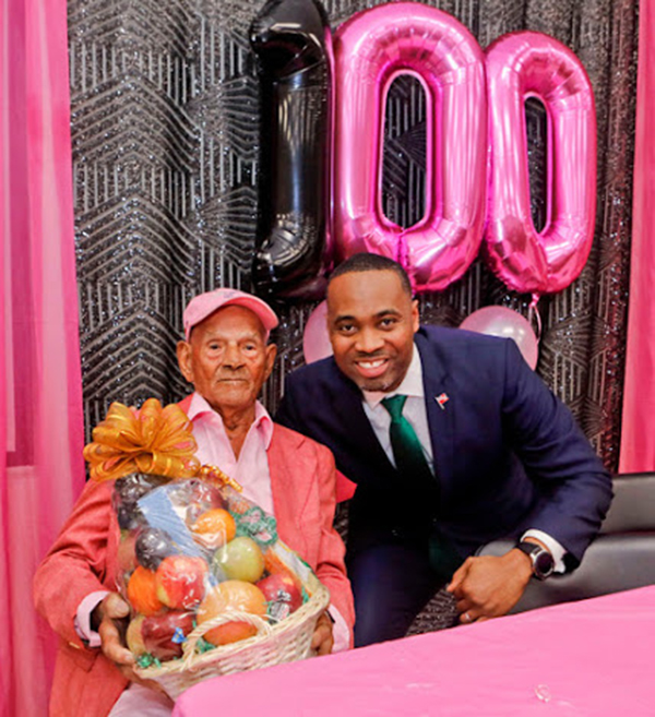 100th Birthday Of  Harold Smith Bermuda Feb 2020 (1)