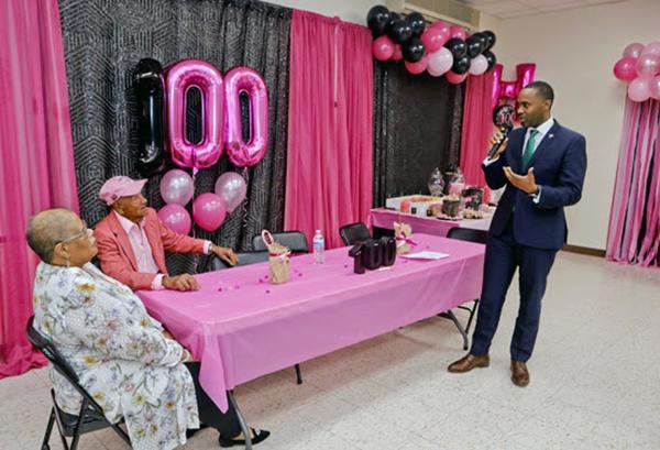 100th Birthday Of  Harold Smith Bermuda Feb 2020 (4)