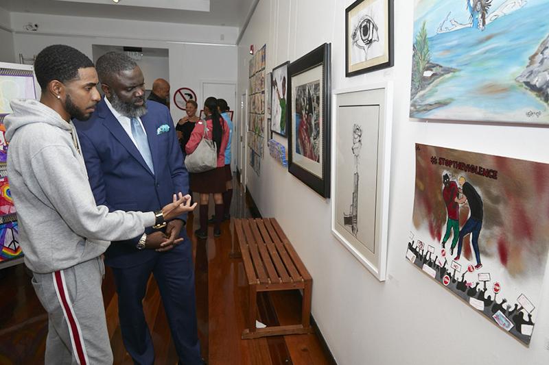 Anti-Violence Art Exhibit Bermuda Feb 2020 (7)