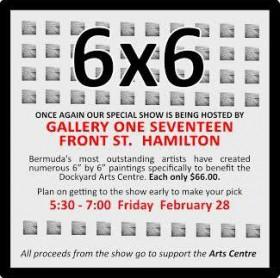 Bermuda Arts Centre 6x6 show Feb 2020