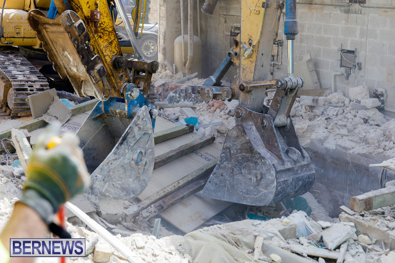 Demolition of Valerie T Scott building Bermuda February 2020 (3)