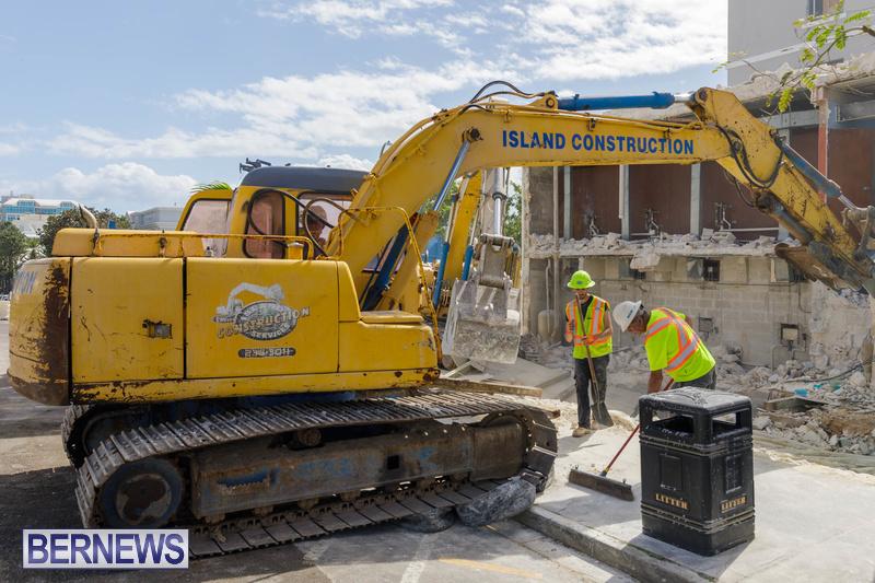 Demolition of Valerie T Scott building Bermuda February 2020 (4)
