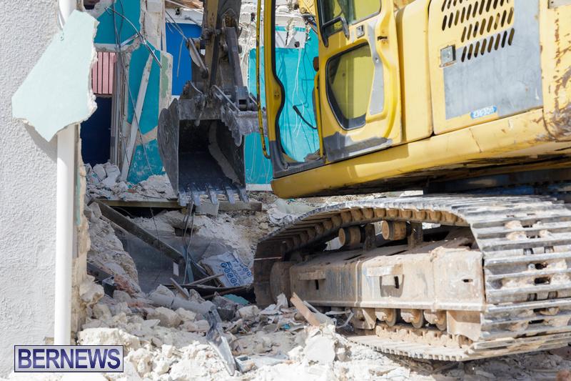 Demolition of Valerie T Scott building Bermuda February 2020 (6)