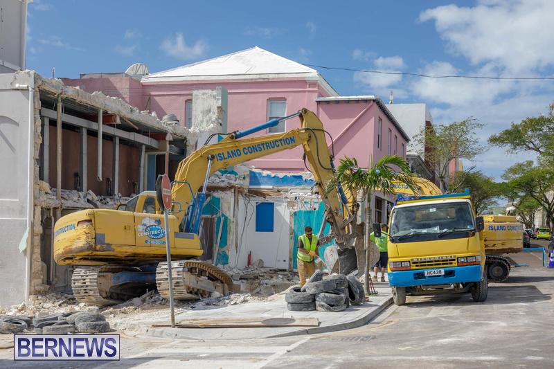 Demolition of Valerie T Scott building Bermuda February 2020 (8)