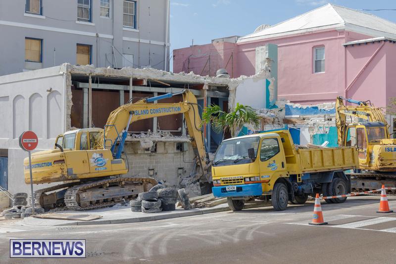 Demolition of Valerie T Scott building Bermuda February 2020 (9)