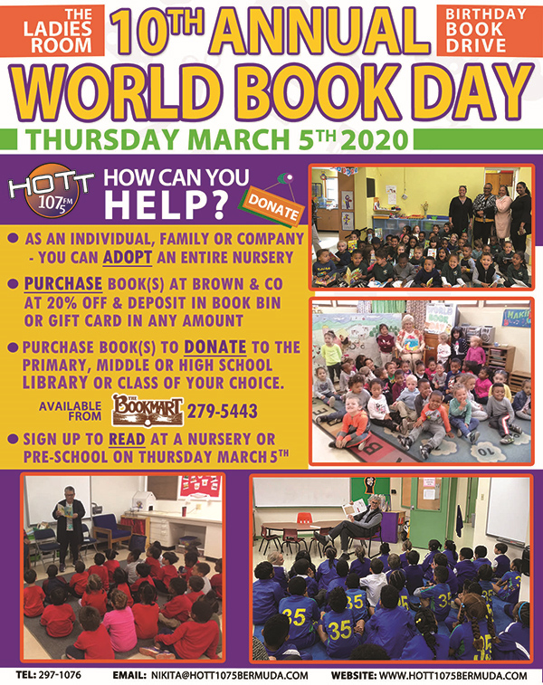 Ladies Room World Book Day Feb 2020