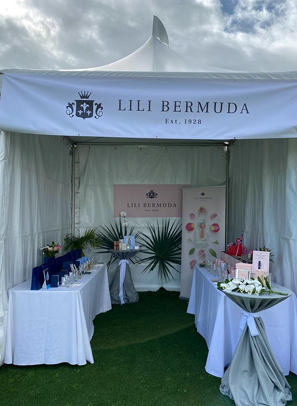 Lili Bermuda Tent Windsor Polo Cup Feb 2020