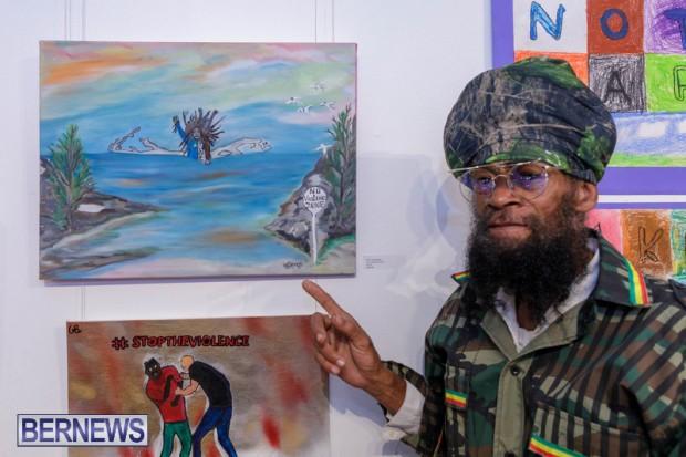 Live. Love. Life. Anti-Violence Art Exhibition Bermuda Feb 2020 (15)