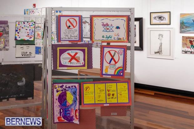 Live. Love. Life. Anti-Violence Art Exhibition Bermuda Feb 2020 (5)