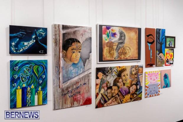 Live. Love. Life. Anti-Violence Art Exhibition Bermuda Feb 2020 (7)
