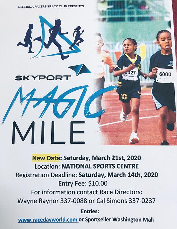Magic Mile Bermuda Feb 2020