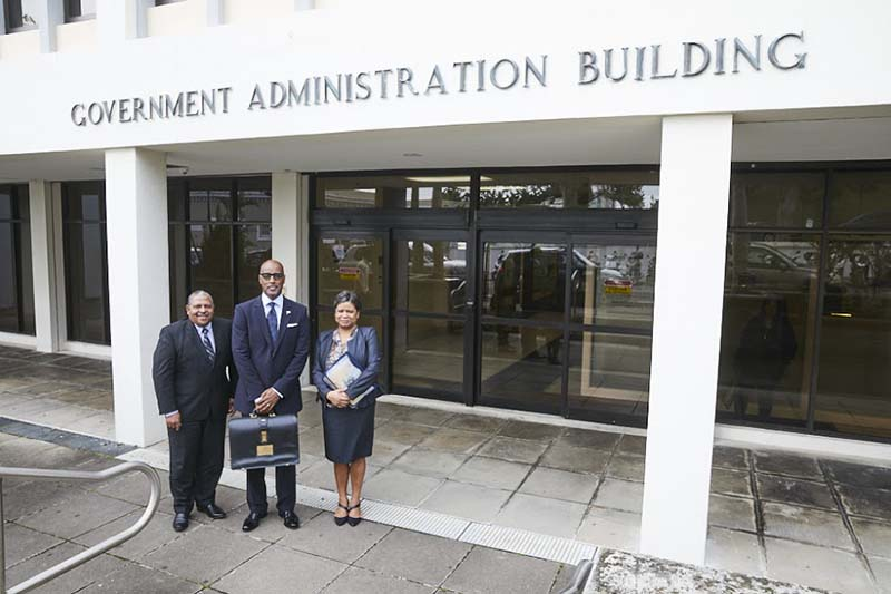 Minister Dickinson Delivers Budget Bermuda Feb 2020 (6)