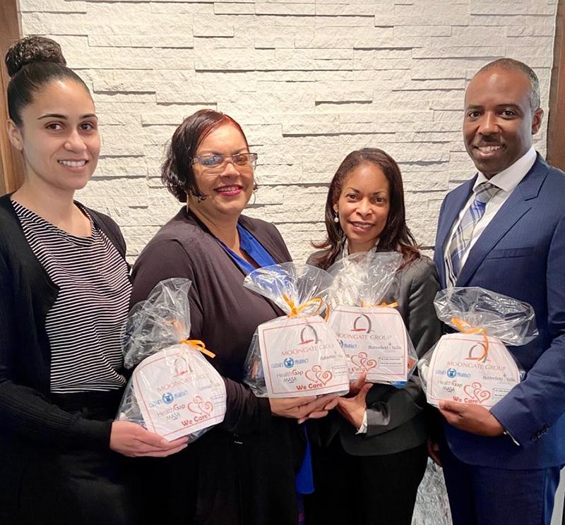 Moongate To Distribute Health Packages Bermuda Feb 2020 (1)