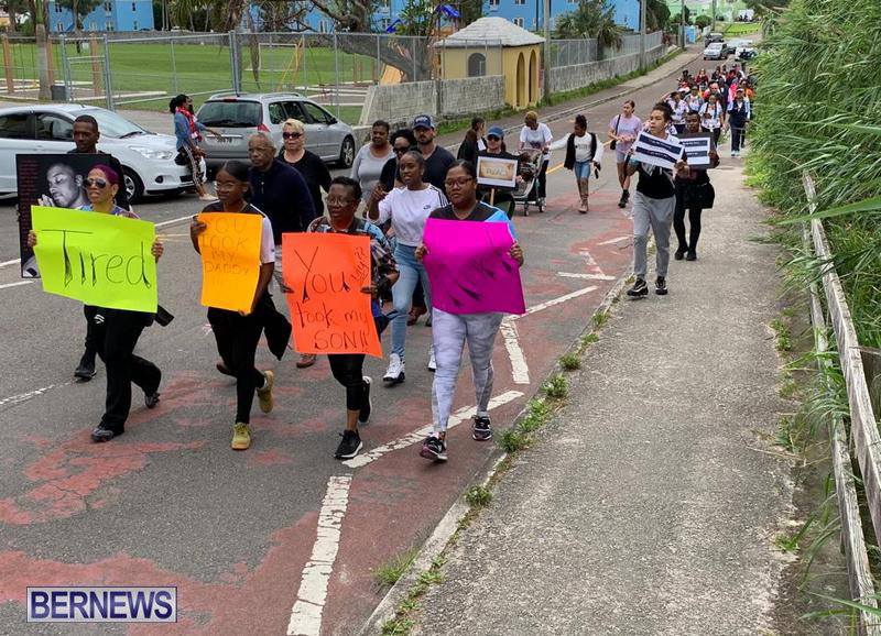 Mothers on a Mission anti violence walk Feb 2020 Bermuda (14)