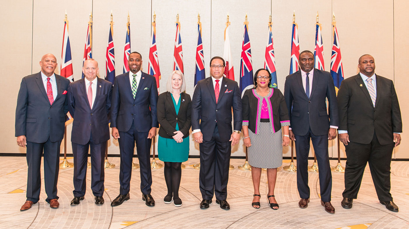 Political Leaders of the Overseas Territories Feb 2020