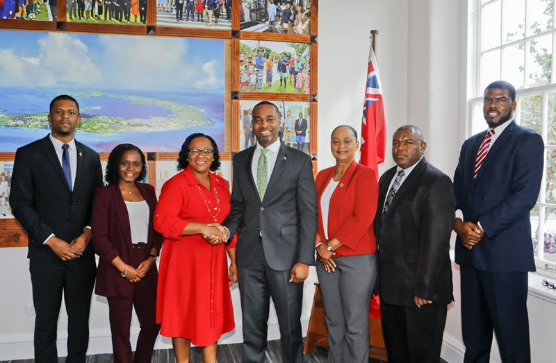 Premier Meets With Turks & Caicos Premier Bermuda Feb 20 2020 (1)