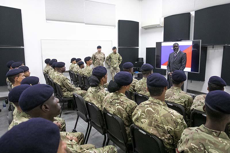 Premier & Minister Caines Visit RBR Recruits  Bermuda Feb 2020 (1)