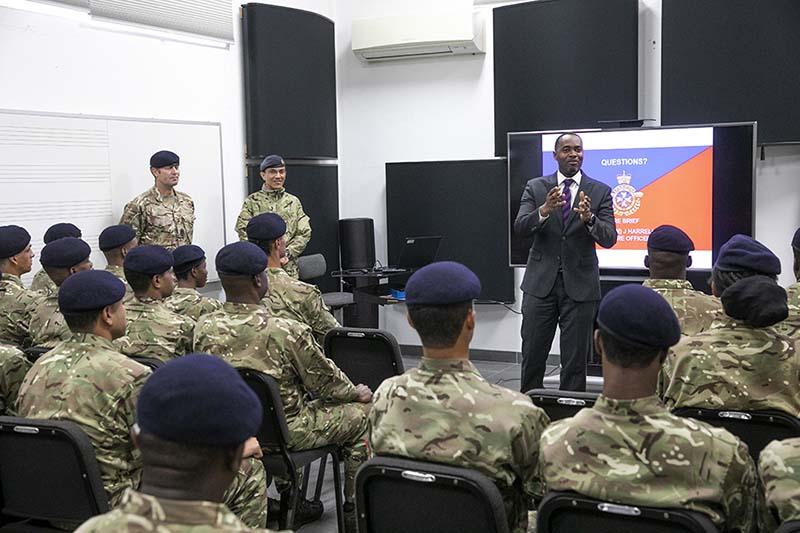 Premier & Minister Caines Visit RBR Recruits  Bermuda Feb 2020 (2)