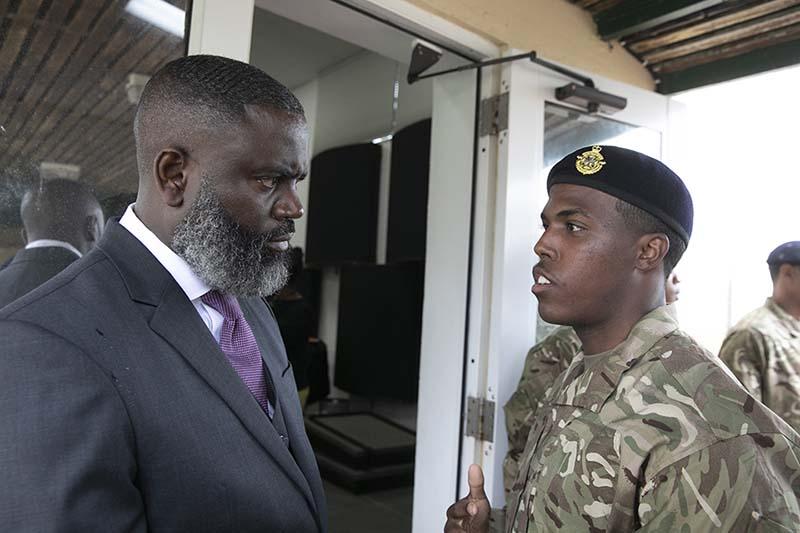 Premier & Minister Caines Visit RBR Recruits  Bermuda Feb 2020  (4)
