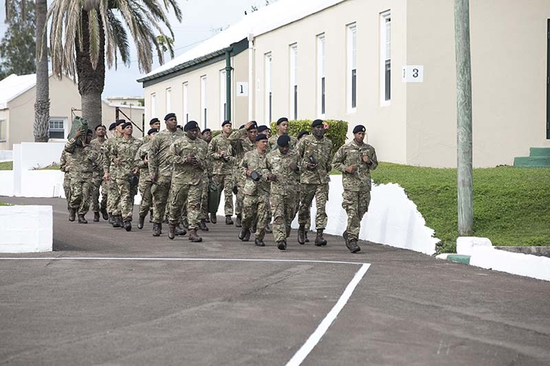 Premier & Minister Caines Visit RBR Recruits  Bermuda Feb 2020 (7)
