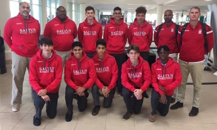 Saltus Boys Basketball Team Bermuda Feb 2020