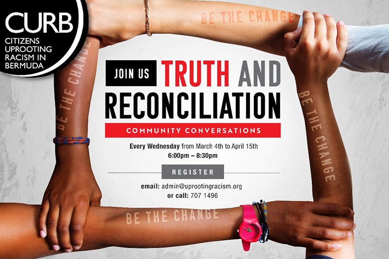 Truth & Reconciliation Community Bermuda Feb 2020