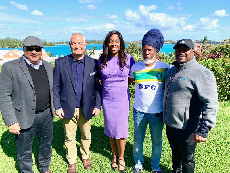 USL partnership Bermuda February 2020