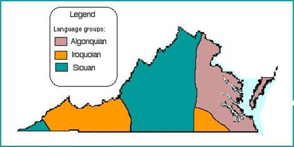 Virginia Map Bermuda Feb 2020