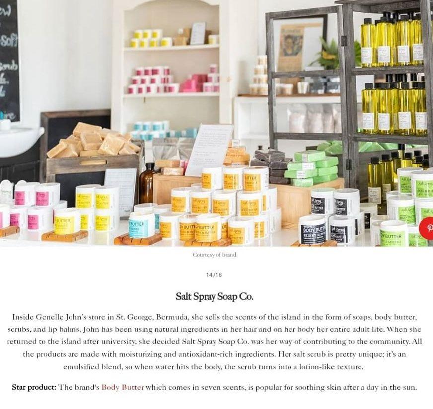 allure salt spray bermuda brand 2020
