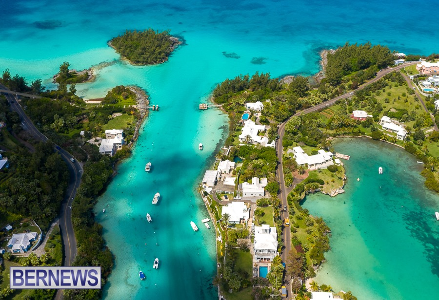 360 - A stunning view always when looking down at Flatt's inlet on a sunny day