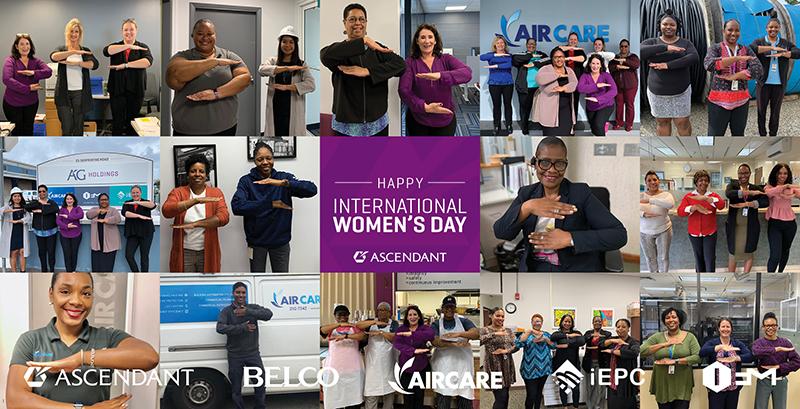 Ascendant Intl Womens Day Bermuda March 6 2020