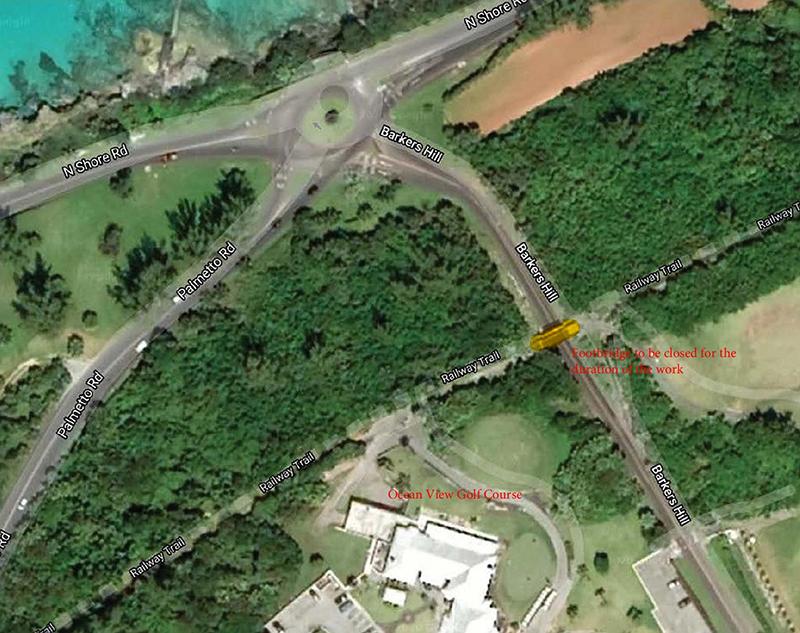 Barkers Hill Footbridge Bermuda March 2020